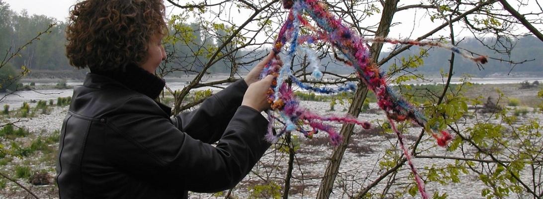 """Jellyfish Whimsical Scarf - Sciarpa collana fantasia """"Medusa"""""""