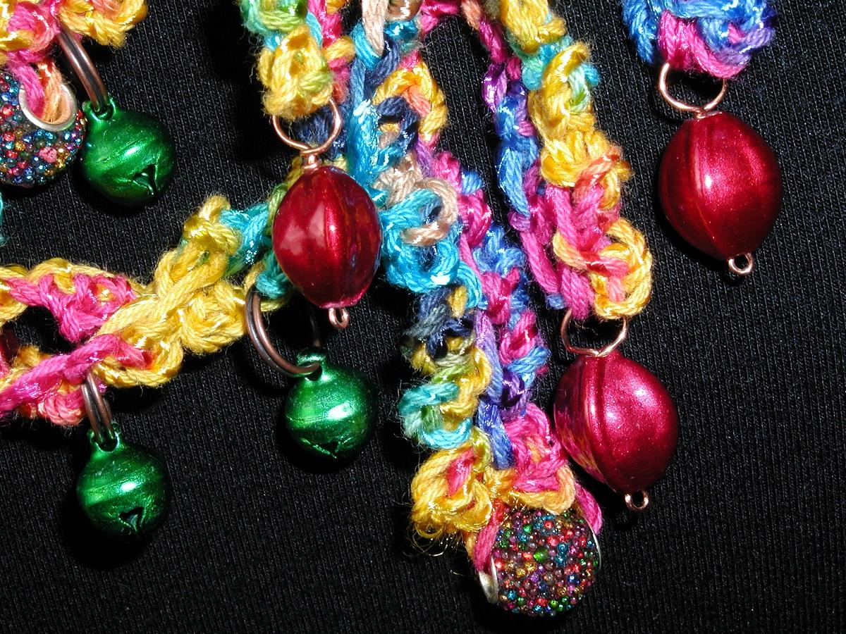 "Carioca Multicolor Whimsical Necklace - Collana fantasia multicolor ""Carioca"""