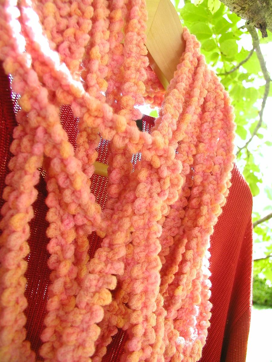 "CoralSeaweed Infinity Scarf - Sciarpa infinity ""CorAlga"""