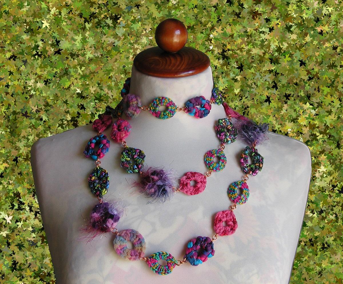 "Julia Multicolor Fancy Necklace - Collana fantasia multicolor ""Julia"""
