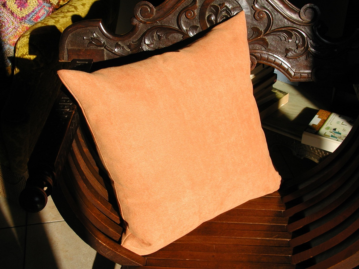 Square Decorative Pillow with Removable Cover - Cuscino arredo quadrato sfoderabile