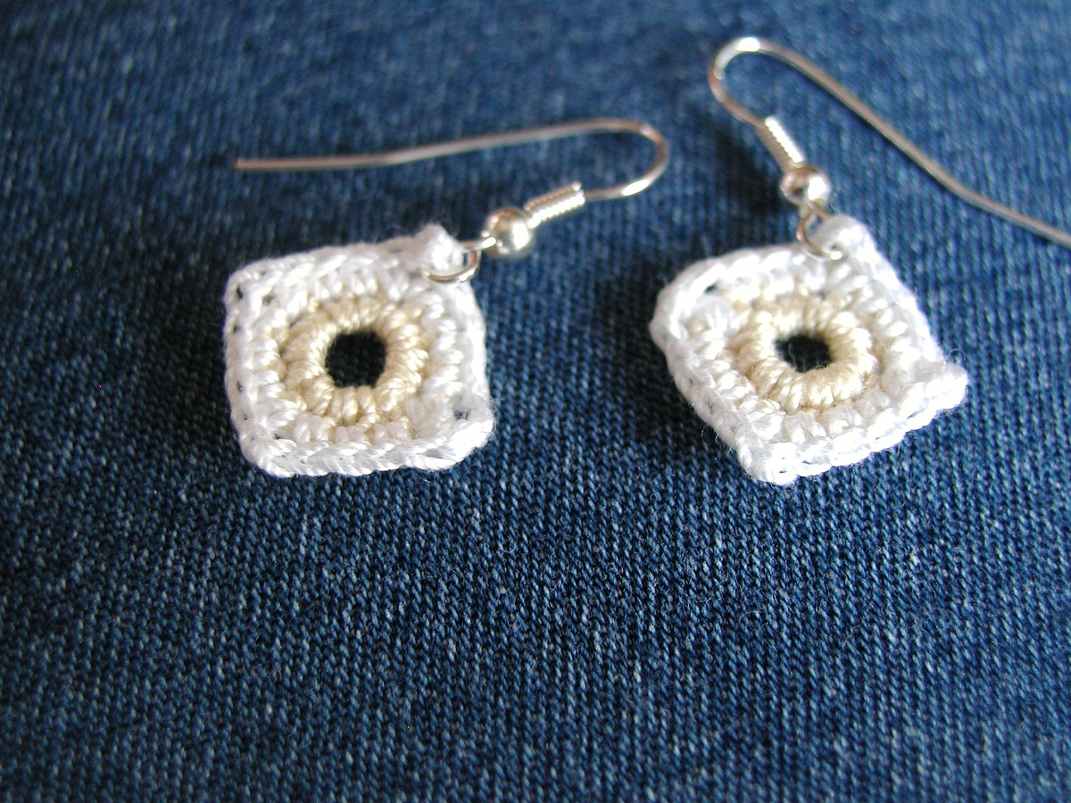 "Giorgia New Romantic Earrings - Orecchini New Romantic ""Giorgia"""