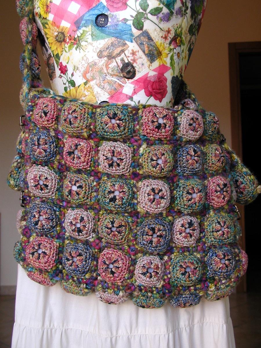 Messenger Bag in Earthy Colors - Messenger bag nei colori della terra