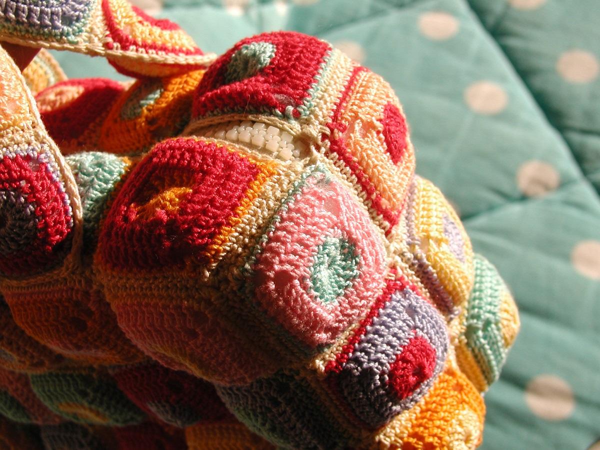 Multicolor Mini Box Bag - Mini borsa scatola multicolor
