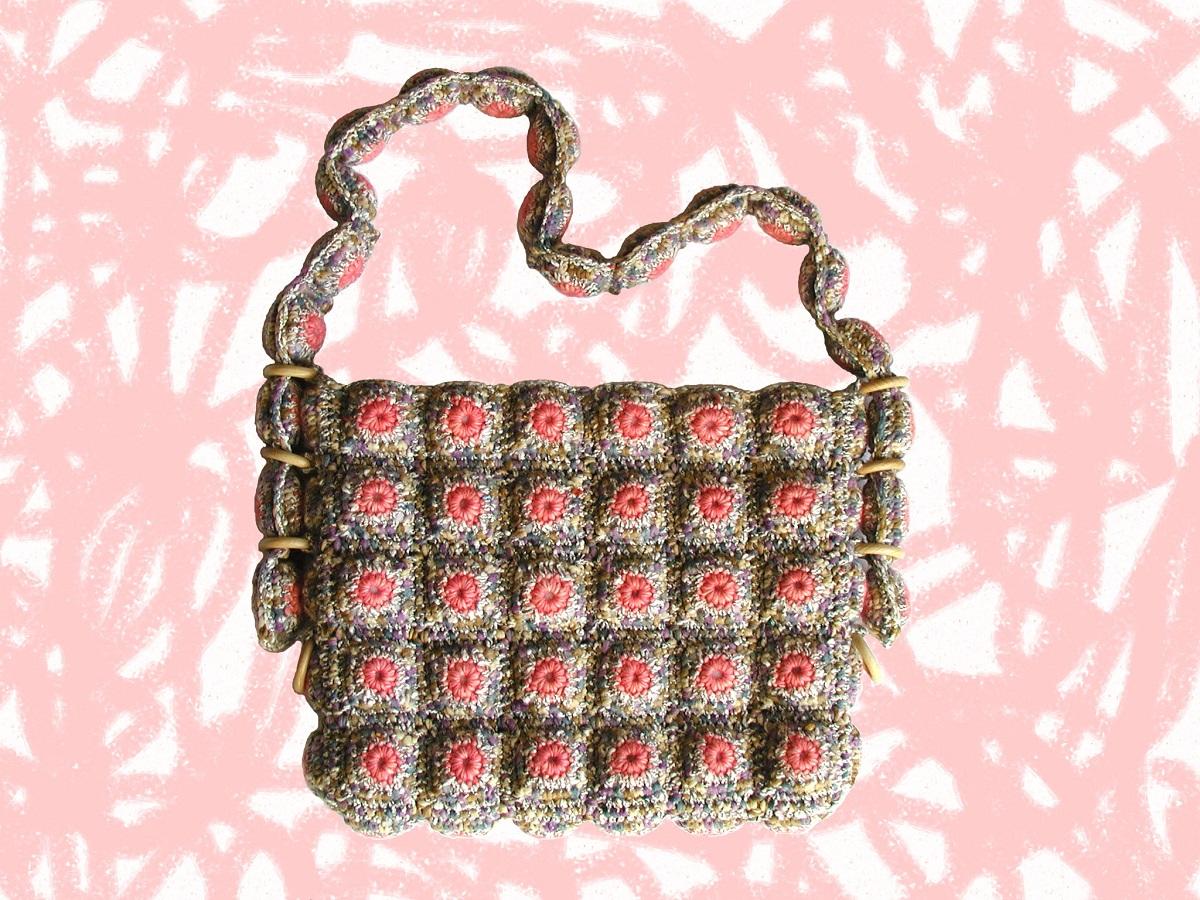 """Sarah Messenger Bag w/Adjustable Strap - Messenger bag c/tracolla regolabile """"Sarah"""""""