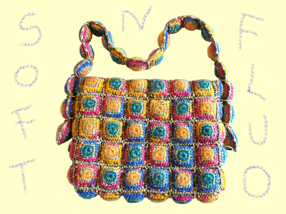 "Abigail Messenger Bag in Neon Colors - Borsa messenger colori neon ""Abigail"""