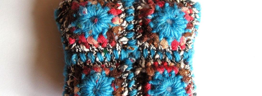Coin Pouch Turquoise, Red and Chocolate - Portamonete multicolor turchese, rosso e cioccolato
