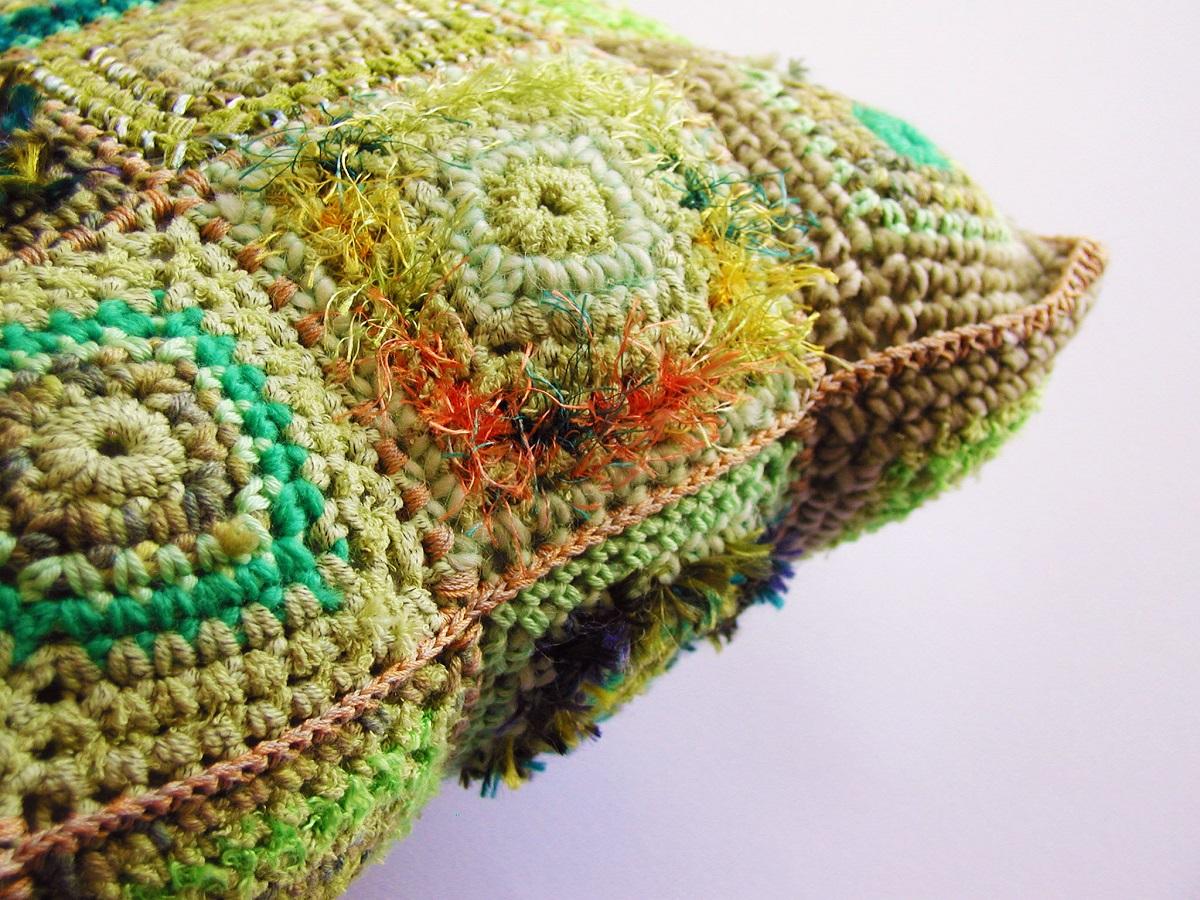 Square Decorative Pillow - Cuscino arredo quadrato