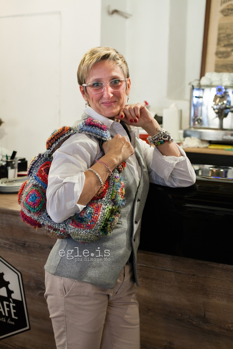 "Jacqueline Funny Chic Shoulder Bag - Jacqueline borsa a spalla ""Funny Chic"""