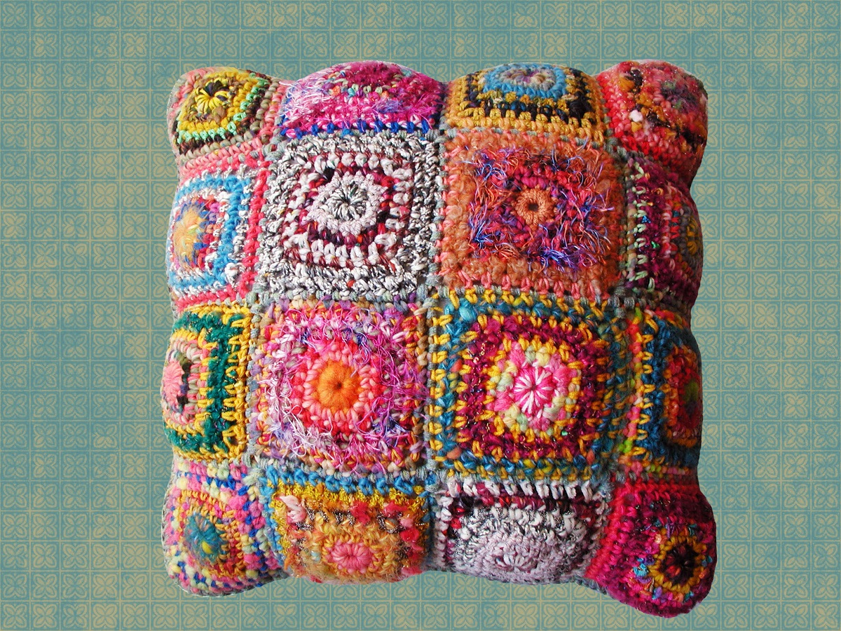 """Zack Square Decorative Pillow - Cuscino arredo quadrato """"Zack"""""""