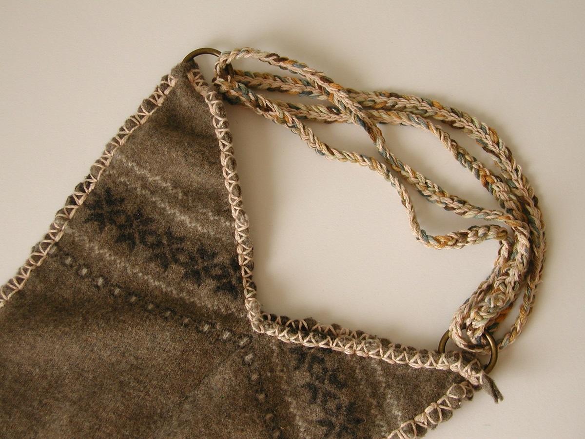 Susy RRR Shopping Bag, Shabby Chic Style - Susy borsa shopping shabby chic RRR