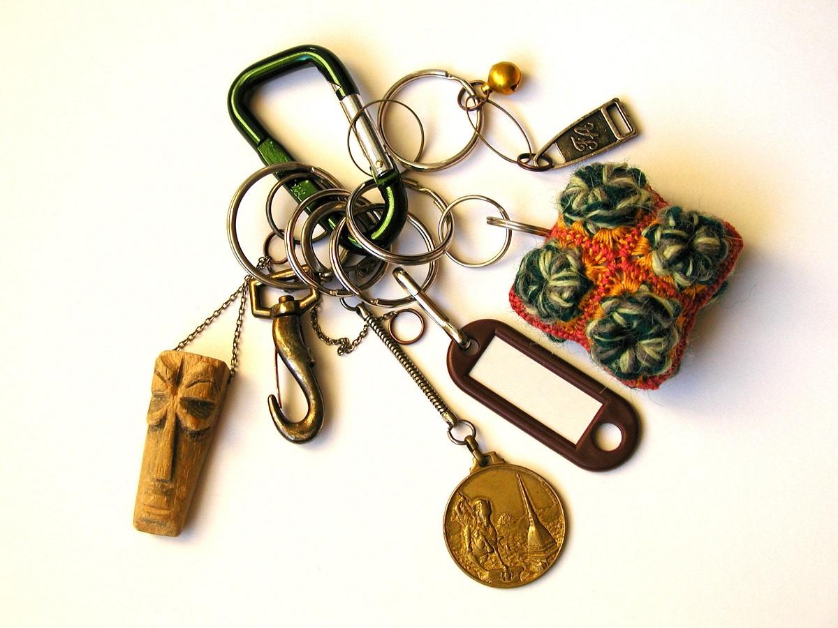 African Head RRR Keychain - African Head portachiavi RRR