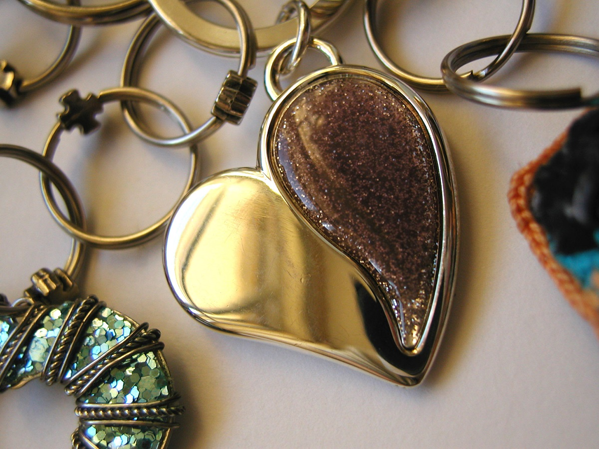 A Heart or Two Whimsical Keychain - A Heart or Two portachiavi fantasia