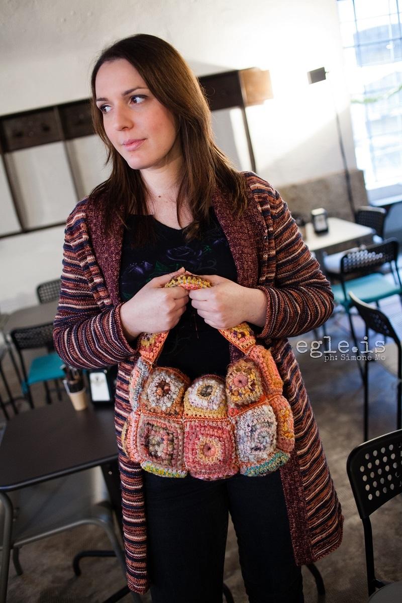 Zyanya Funny Chic Shoulder Bag - Zyanya borsa a spalla Funny Chic
