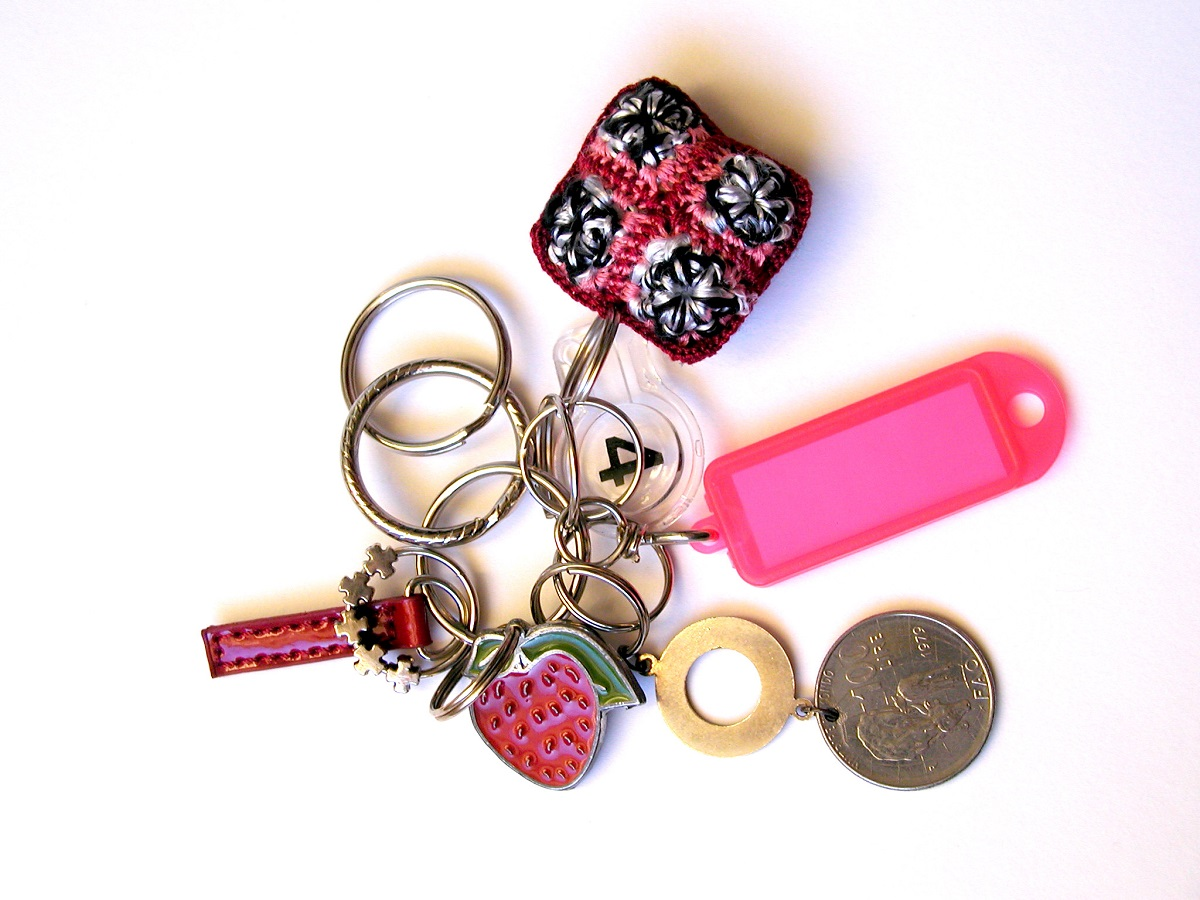 100 Lire Whimsical Keychain - 100 Lire portachiavi fantasia