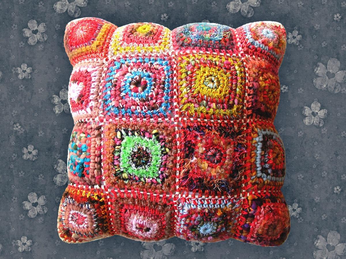 Caesar Square Decorative Pillow - Caesar cuscino arredo quadrato