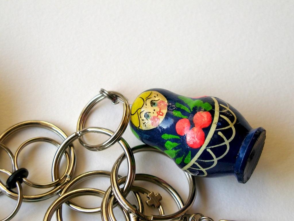 Little Dolly Dolly Whimsy Keychain – Bambolina, Bambolina! portachiavi fantasia