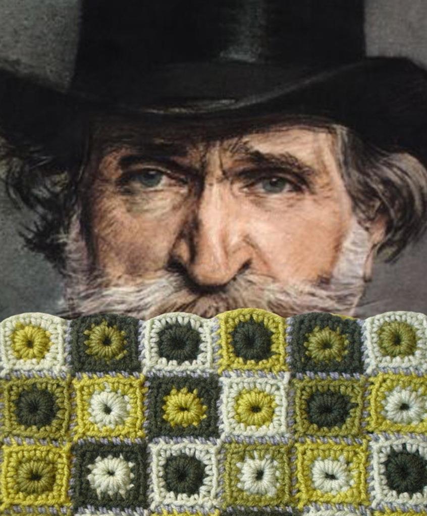 Giuseppe Verdi Unisex Neckwarmer - Giuseppe Verdi scaldacollo unisex