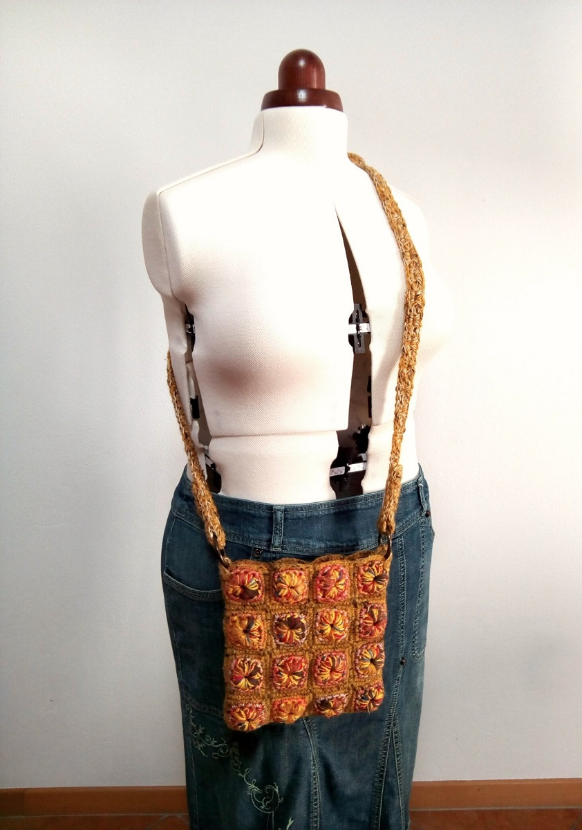 "Africa Fanny Pack and Crossbody Bag - Marsupio e tracollina ""Africa"""