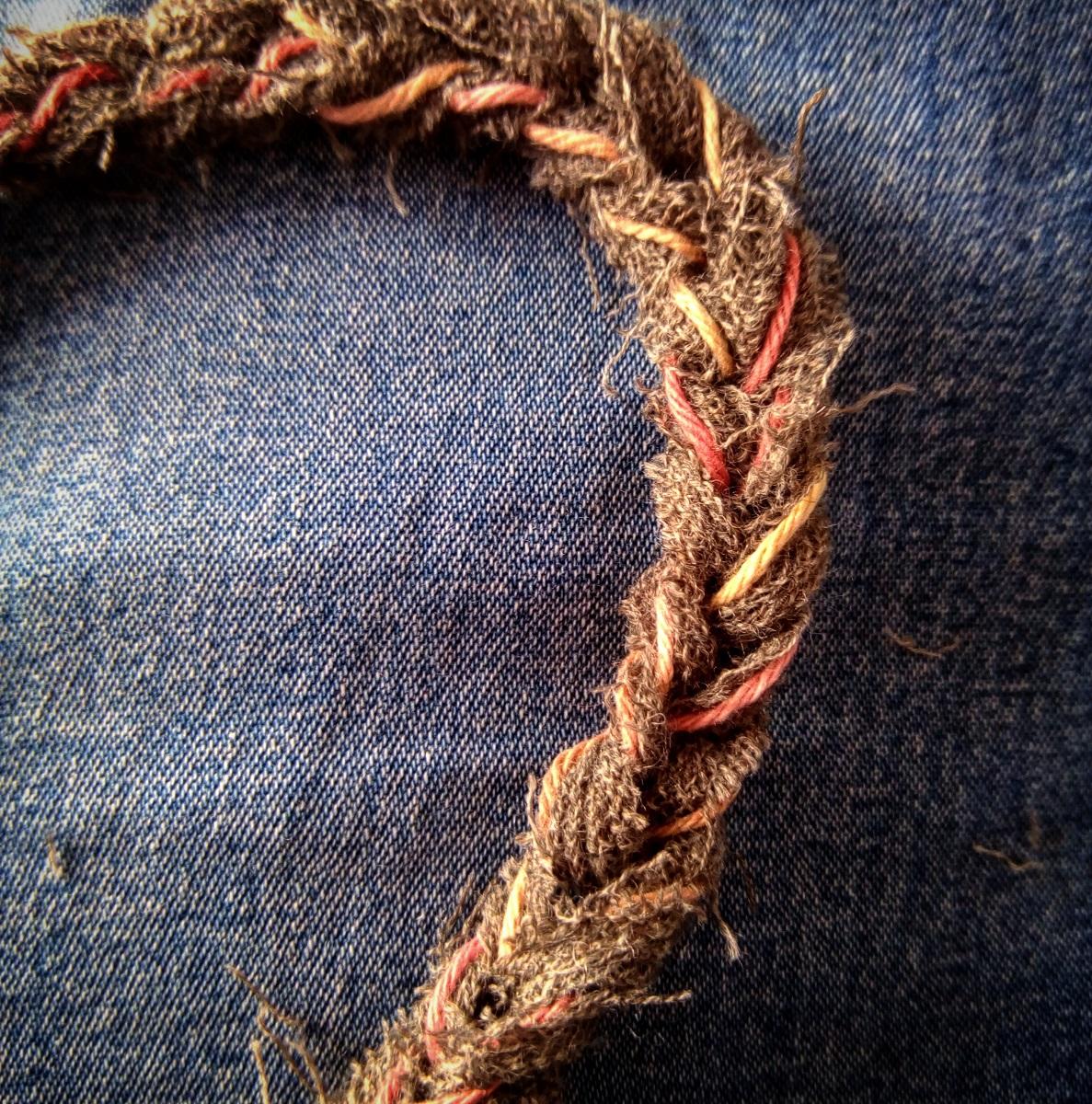 """Marcia Fiber Art Crossbody Bag – Borsa a tracolla fiber art """"Marzia"""""""