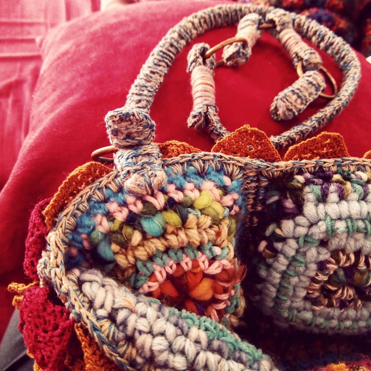 """Castor Fiber Art Tote Bag - Borsa tote fiber art """"Castore"""""""