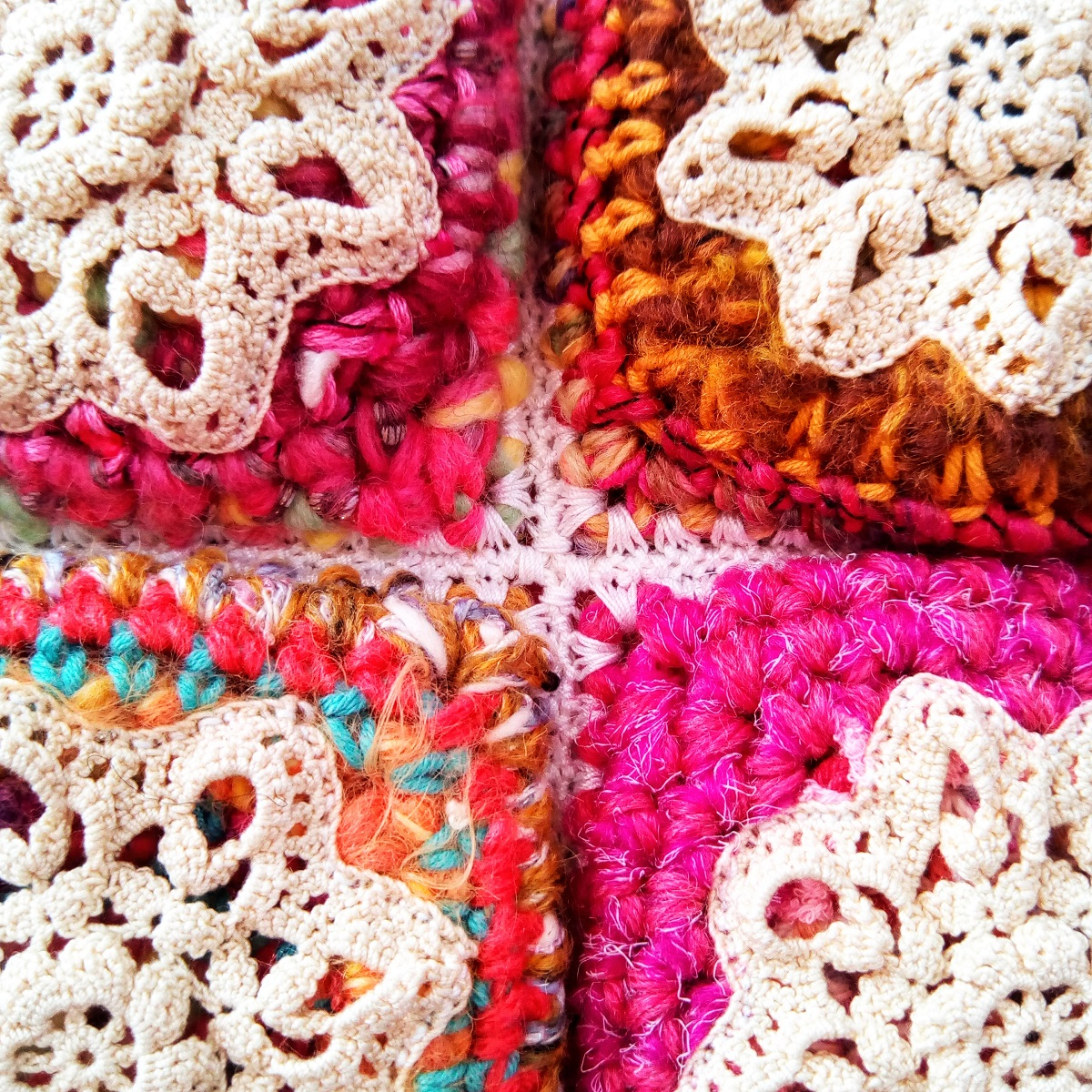 Nephthys Fiber Art Tote Bag - Nefti borsa tote fiber art