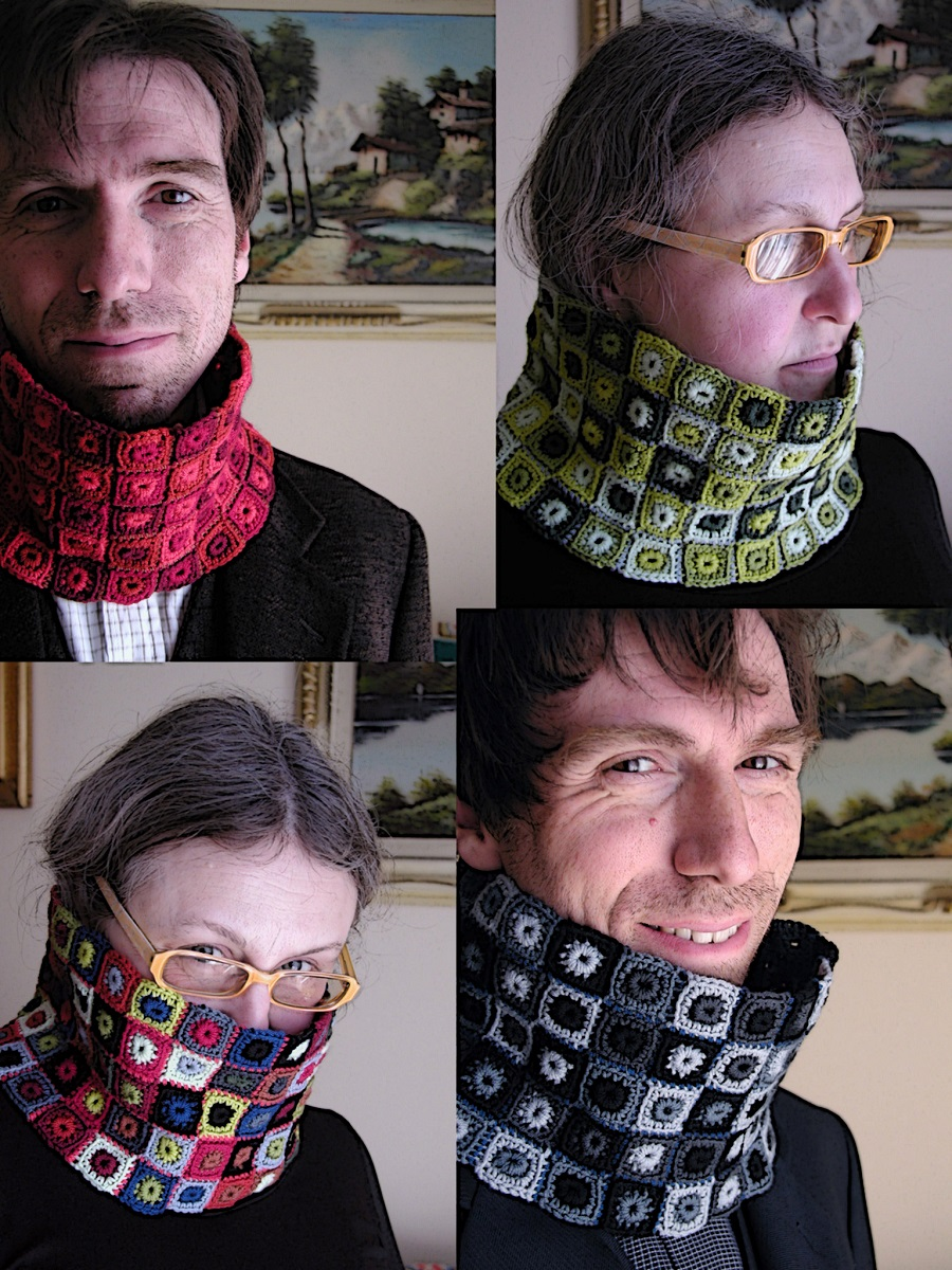 egle.is Unisex Neckwarmers - Scaldacolli unisex di egle.is